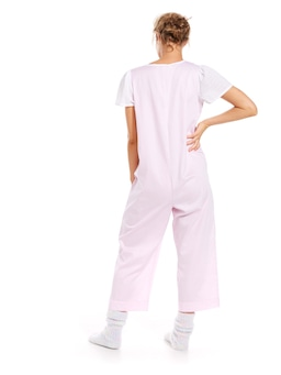 Cotton Dobby Jumpsuit