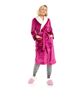 P.A. Luxe Fleece Gown