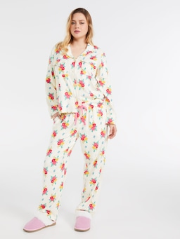 Posey Rosey Bamboo Flannelette Classic Pj Pant