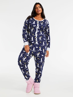 P.A. Plus Where The Wild Things Are Waffle Onesie