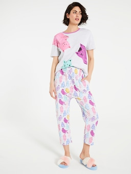 Fat Cats Drop Crotch Pj Pant