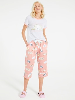 Sleepy Dog 3/4 Pj Pant