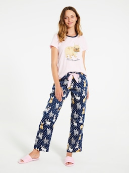 Frenchie Classic Pj Pant