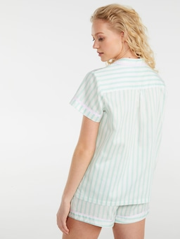 Mint Candy Stripe Shirt