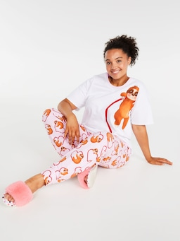 P.A. Plus I Sloth You Heart Easy Pj Pant