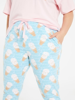 P.A. Plus Hokey Pokey Tapered Pj Pant