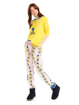 Minions Stack Easy Pj Pant