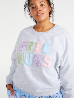 P.A. Plus Free Hugs Sweater