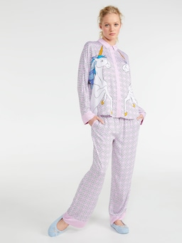 Unicorn Long Pj Set