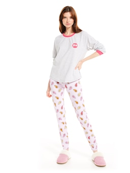 P.A. Spot Long Sleeve Top