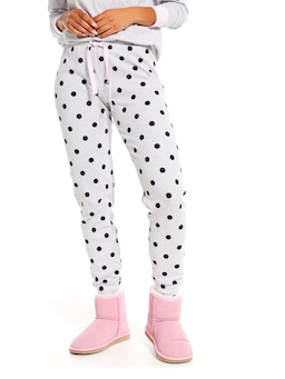 Grey Spot Easy Pj Pant
