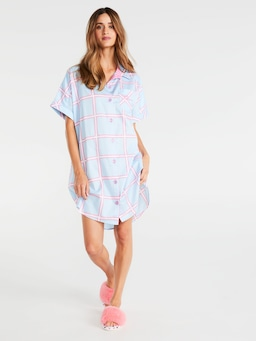Window Pane Nightshirt