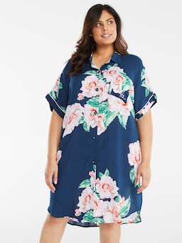 P.A. Plus Floral Nightshirt