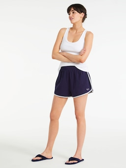 Navy Sporty Mid Short