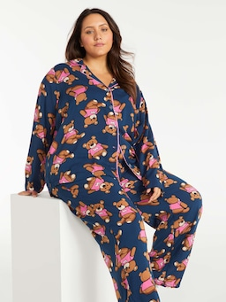 P.A. Plus Teddy Bear Pj Set