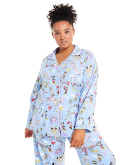 P.A. Plus Disneyland Flannelette Pj Set