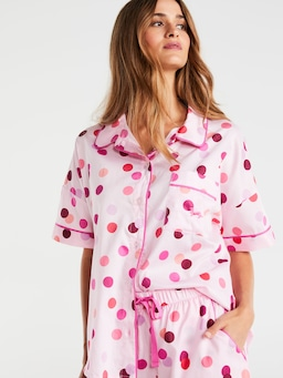 Spotty Shortie Pj Set