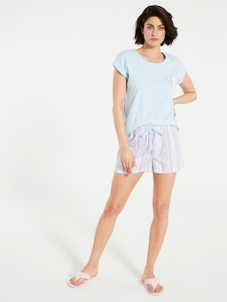 Mattress Stripe Mid Short