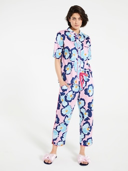 Hibiscus 3/4 Roll Up Pj Pant