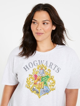 P.A. Plus Harry Potter Hogwarts Logo Tee