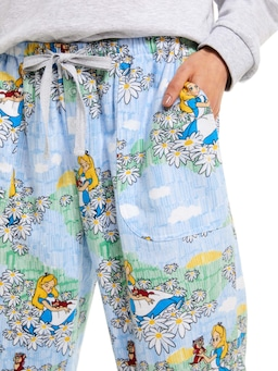 Disney Alice And Kitty Classic Flannelette Pj Pant