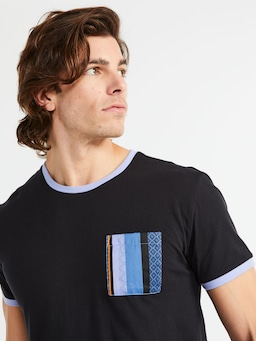 Stripe Pocket Tee