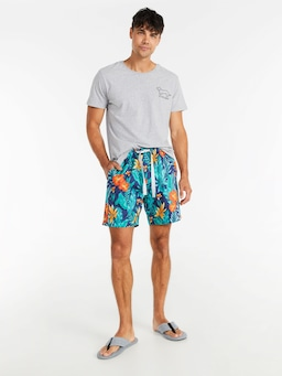 Jungle Floral Mid Short