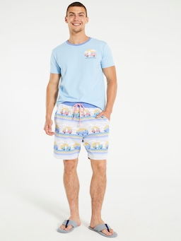 Beach Van Knit Mid Short