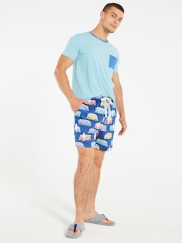 Beach Van Mid Short