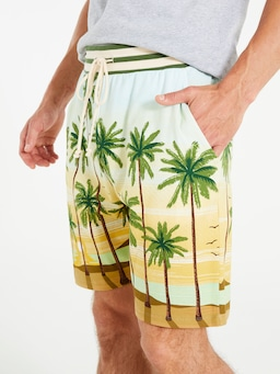 Palm Knit Mid Short