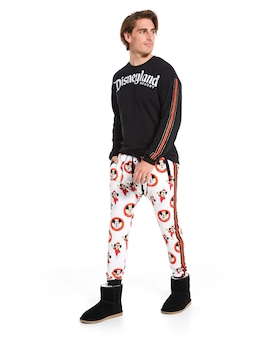 Disney Marching Mickey Fleece Jogger