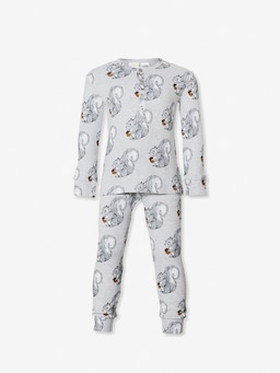 Jnr Boys Squirrel Pj Set