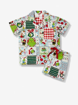 Jnr Kids The Grinch Family Pj Set