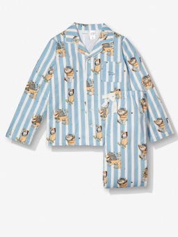 Kids Where The Wild Things Are Stripe Flannelette Pj Set