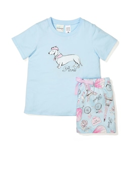 Jnr Girls Paris Pj Set