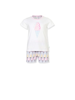 Jnr Girls Ice Cream Pj Set