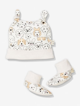 Baby Organic Doggy Bootie Set