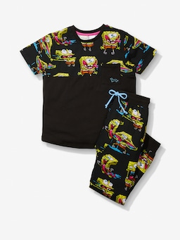 Boys Mad Spongebob Pj Set