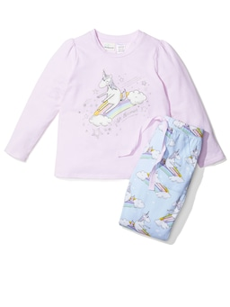 Girls Unicorn Pj Set