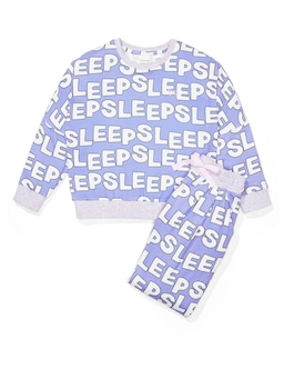 Girls Plush Sleep Pj Set