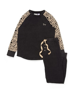 Boys Cheetah Pj Set