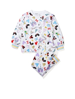 Jnr Girls Disneyland Characters Pj Set