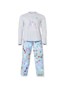 Jnr Girls Disney Castle Pj Set