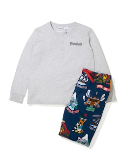 Boys Disney Theme Park Pj Set