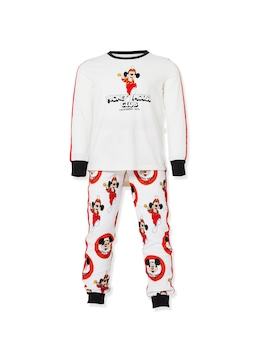 Jnr Kids Disney Mouseketeers Pj Set