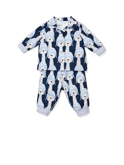 Baby Cosy Tiger Flannelette Pj Set