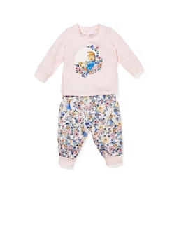 Baby Girl Peter Rabbit Floral Pj Set