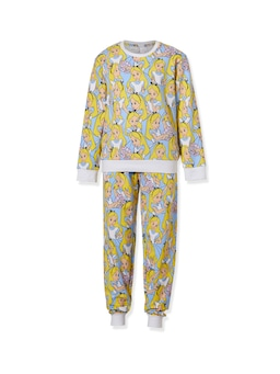 Girls Disney Alice In Wonderland Long Pj Set