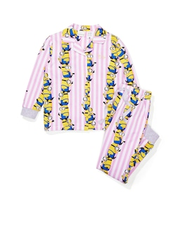 Jnr Girls Minions Stack Pj Set