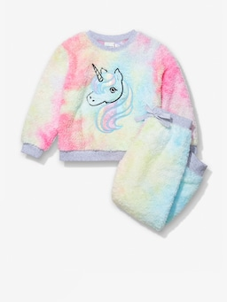 Jnr Girls Unicorn Pj Set